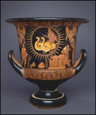 The Medea Krater, Lucanian Red Figure, ca. 400 BC. Cleveland Museum of Art